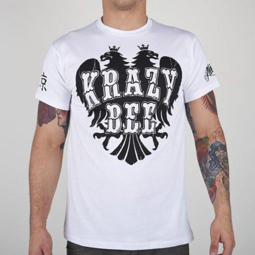 eng pl MANTO t shirt KRAZY BEE white 535 2