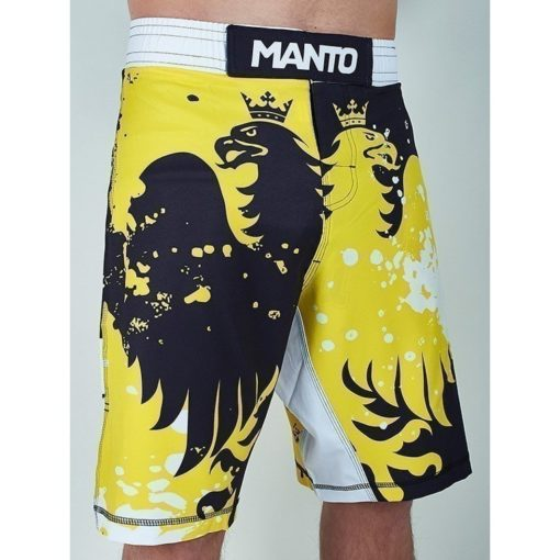 eng pm MANTO fight shorts KRAZY BEE black yellow 729 2