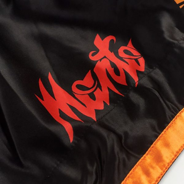 eng pm MANTO fightshorts MUAY THAI TIGER black 1232 6