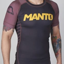 eng pm MANTO short sleeve rashguard CHAMP black brown 782 2