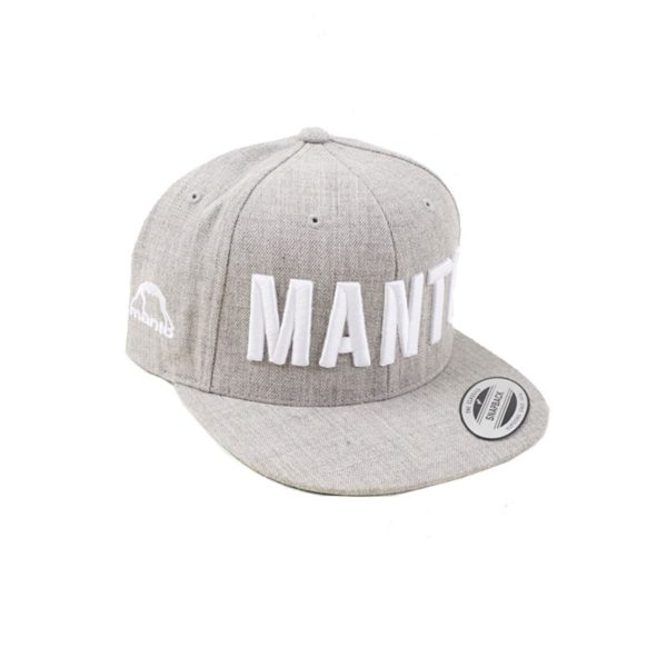 eng pm MANTO snapback cap EAZY melange 904 2a