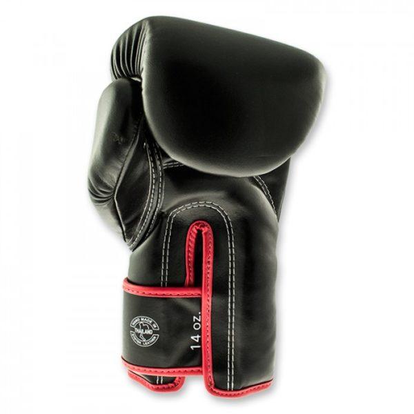 fairtex black red boxinggloves back 1