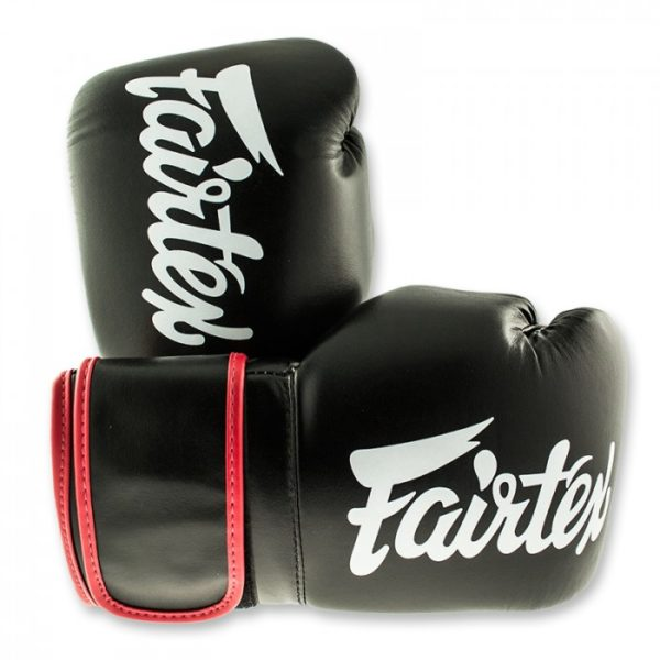 fairtex black red boxinggloves front2 1