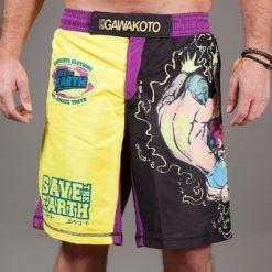 gawakoto art junkie ste shorts front main