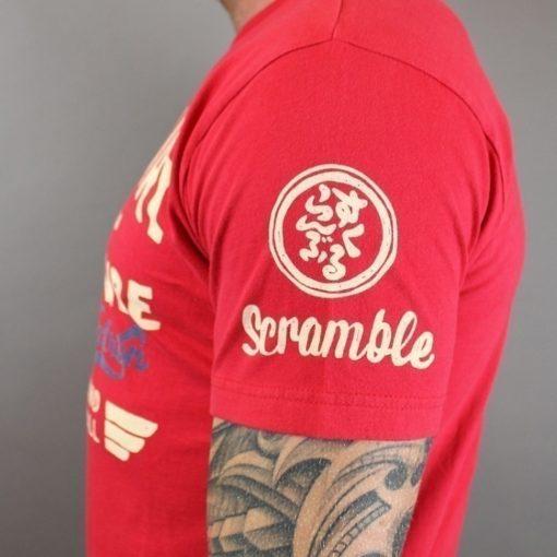 kaminari tee scramble sleeve