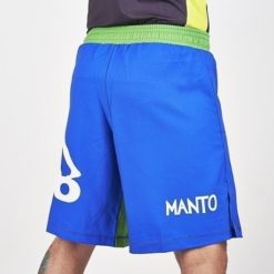 manto fightshorts blue2