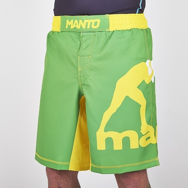 manto fightshorts green
