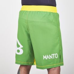 manto fightshorts green2