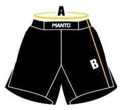manto shorts size 1