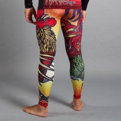 meerkatsu grappling spats fire rooster 2