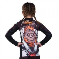 orangutan kids rashguard back
