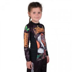 orangutan kids rashguard side