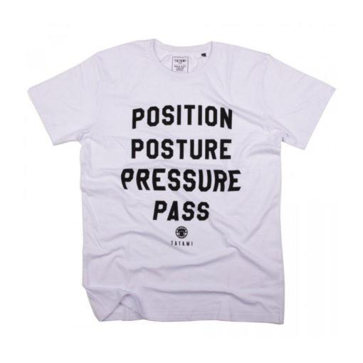 pressure pass t shirt white