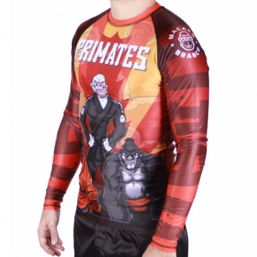 rash guard primates 3 1