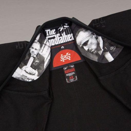 scramble godfather gi inner prints mma bjj jiu jitsu kimono