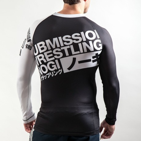 scramble ibjjf ranked rash guards bjj white back