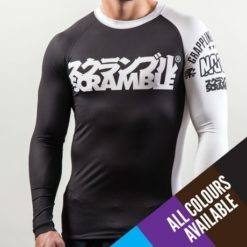 scramble ibjjf ranked rash guards bjj white main