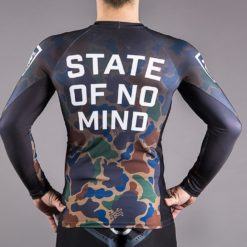 scramble mma bjj jiu jitsu no gi rash guard no mind back