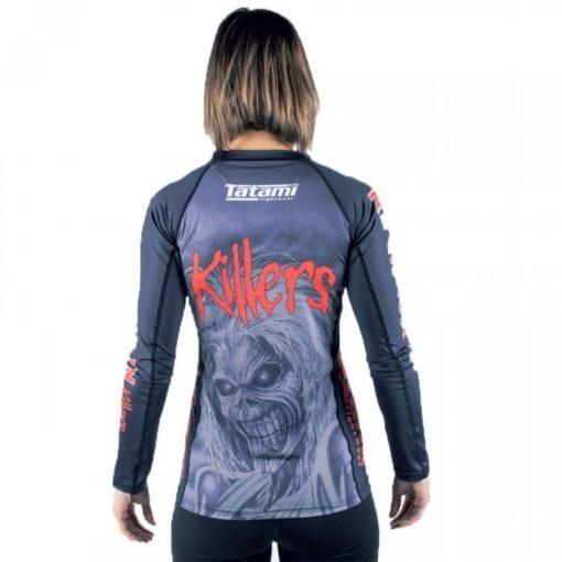 tatami x iron maiden ladies killers rashguard 2