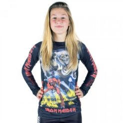 tatami x iron maiden ladies number o the beast rashguard 1