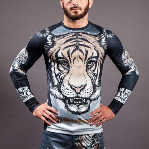 tiger rashguard front