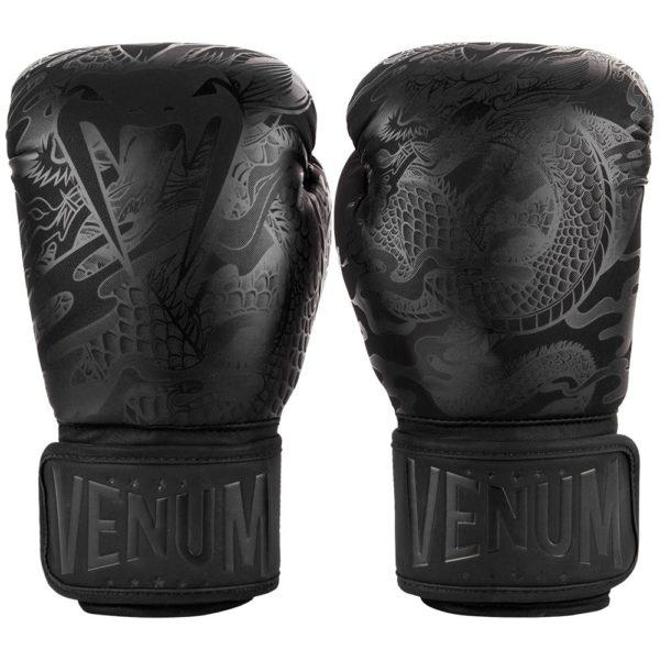 venum boxningshandskar dragons flight svart svart 1