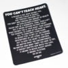ycth mantra poster patch svart 1